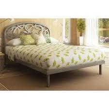 amisco metal headboard in glossy gray full at searscom amisco newton regular footboard bed queen