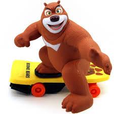 Купить радиоуправляемый <b>Медведь на скейте</b> (36 см.)