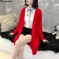 Women Sweater 2019 <b>Autumn Winter</b> Women Long Knitted ...