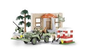 <b>Конструктор COBI</b> Джип <b>Jeep</b> Willys MB Barracks