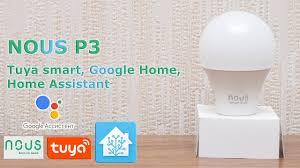 NOUS P3 - цветная wi-fi <b>лампа</b>, Tuya smart, голосовое ...