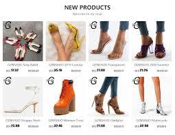 <b>GENSHUO</b> Brand <b>Shoes</b> 10 12CM <b>Heels</b> Women <b>Shoes Pumps</b> ...