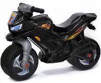 ОР501 Каталка-мотоцикл <b>беговел</b> Racer RZ 1 цвет черный