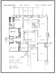 the comfort zoneEichler Home floor plan   Joseph Eichler