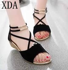 XDA 2018 <b>new fashion Women</b> pointed toe <b>Sandals</b> Open Toe <b>Flip</b> ...