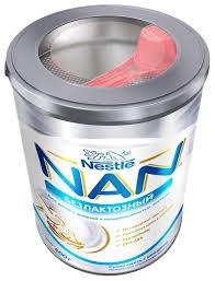 Купить <b>Смесь NAN</b> (Nestlé) Безлактозный (с рождения) 400 г по ...