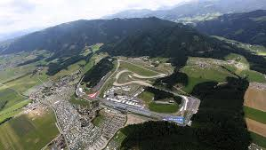 gp2 series red bull ring practice austria air view of the track austria view red bull