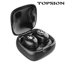 TOPSION <b>Bluetooth Headphones 5.0 Stereo</b> Earbuds automatically ...