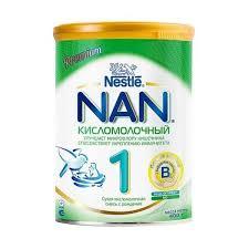 ᐅ <b>NAN</b> (Nestlé) <b>Кисломолочный</b> 1 (с рождения) 400 г отзывы — 1 ...