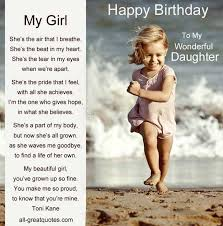 Happy Birthday Daughter on Pinterest | Daughters Birthday Quotes ... via Relatably.com