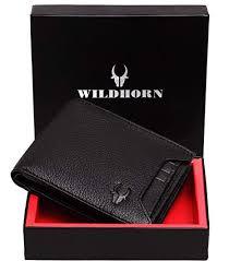 WildHorn Black <b>Men's</b> Wallet: Amazon.in: Bags, Wallets & Luggage