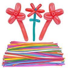 Fun Air Balloons - 100pcs Colorful Balloon Animals ... - Amazon.com