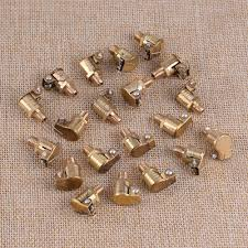 20pcs M6x1mm Metric Male <b>Brass Grease Oil Cup</b> Oiler Spring Cap ...