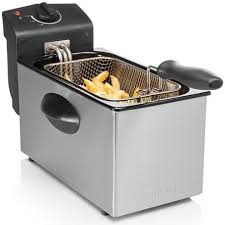 ▷ Buy 3 liters stainless steel <b>fryer 2000W Tristar</b> | Bricolemar