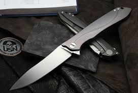 Новый <b>складной нож CKF</b> MILK (m390, титан) – купить в Химках ...