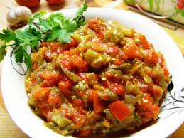 Картинки по запросу Рецепт приготовления баклажанной икры с помидорами