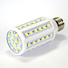 <b>E27 LED Bulb</b> / <b>Corn</b> Light, 10W with 60 x 5050 LED's