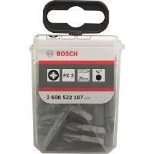 <b>Набор бит BOSCH</b> PZ2 x 25 мм <b>25 шт</b> купить по цене 749.0 руб. в ...