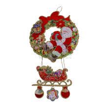 <b>Украшение новогоднее подвесное</b>. 33x59см (1001098212) купить ...