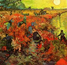 french lessons by tracy cochran parabola vincent van gogh the red vineyard at arles 1888 oil on canvas