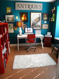 desk chair home office eclectic designing tips with frame collage white desk bright colorful home