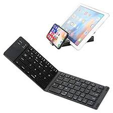 IKOS <b>Portable Foldable</b> Bluetooth <b>Keyboard</b> Compatible: Amazon ...