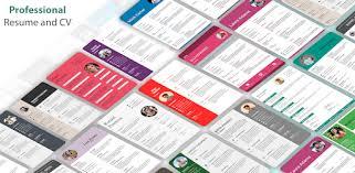 Resume Builder & <b>CV</b> Maker - PDF Template Editor - Apps on ...