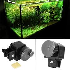 <b>Lcd Electronic Automatic Fish</b> Feeder Dispenser Timer Automatic ...