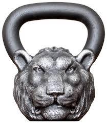<b>Гиря</b> цельнолитая <b>Iron Head</b> Лев 16 кг — купить по низкой цене ...