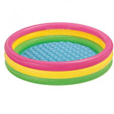 <b>Детский бассейн</b> с надувным дном <b>Радуга</b> 86*25 см купить в ...