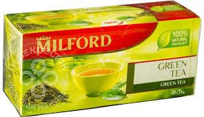 Купить <b>Чай зеленый Milford</b> 20 пак с доставкой на дом по цене ...