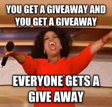Image result for oprah giving away meme