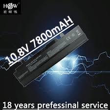 <b>HSW 9cells</b> 7800mah <b>Laptop Battery</b> For ASUS Eee PC 1015 1016 ...