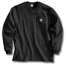 Carhartt <b>Men's</b> Long Sleeve <b>Work Wear Pocket</b> T-Shirt - Big Ray's