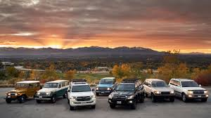 I drove six generations <b>of Toyota Land Cruisers</b>, and it was ...