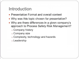 process safety technical areas aiche beyond hazop and lopa four different company approaches conference presentation