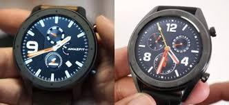 """Сравнение """"<b>умных</b>"""" <b>часов Xiaomi Amazfit</b> GTR vs Huawei Watch GT"""