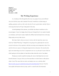 reflective essay english class academic essay essay cover letter format