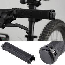 <b>1 Pair Bike</b> Cycling <b>Bicycle</b> Tube Type Anti-slip Rubber <b>Handlebar</b> ...