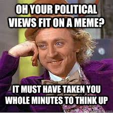 Online Political Humor and the Rise of the Meme | Talking Politics via Relatably.com