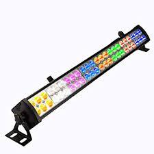 Eyourlife <b>48PCS</b> 8 Colors x 6 LED DMX512 3/12Channal LED Wash ...