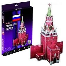 3D пазл <b>Cubic Fun Спасская башня</b> Россия C118h