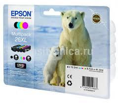 Купить <b>Картридж Epson</b> T2636 4цв. (<b>C13T26364010</b>) в интернет ...
