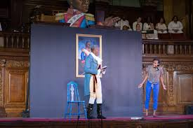 reflections on roots of liberty the an revolution and the two actors on stage