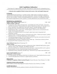 resume for medical office assistant no experience medical assistant resume no experience job medical samples cover