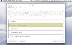 consulting case job interview quiz macgenius similar