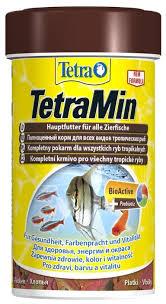 Купить Сухой <b>корм Tetra TetraMin flakes</b> для рыб 100 мл по ...