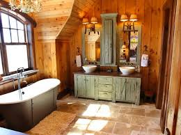 rustic bathroom lighting on top of wooden vanity bathroom lighting ideas photos