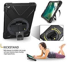 BRAECN iPad Air <b>Case</b>, <b>Heavy Duty</b> Full-body Rugged PC <b>Silicone</b> ...
