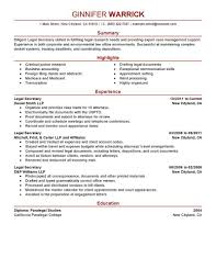 sample paralegal resume objectives format resume paralegal sample paralegal resume objectives format resume legal secretary examples printable legal secretary resume examples full size